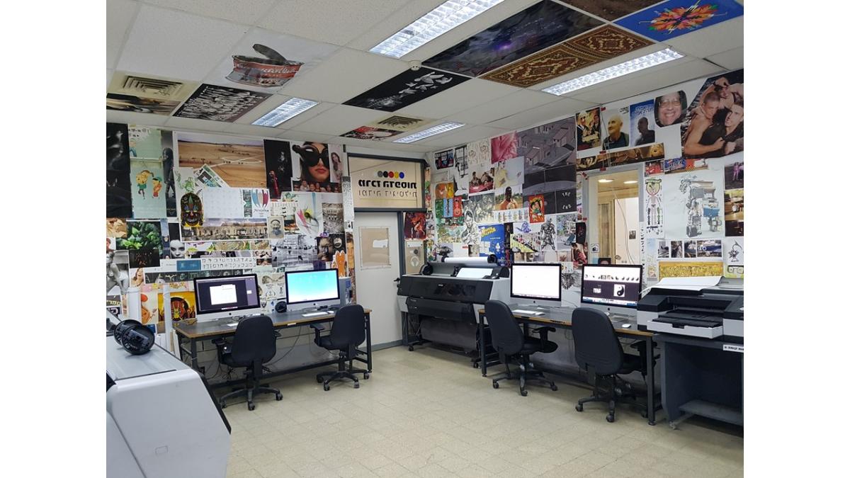 קביעת תור למרכז הדפסות ושימוש בחוות המחשבים-חדר 904
